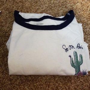 Tops - Plus size cactus tee shirt